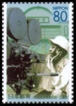 映画監督青春の地(小津安二郎生誕100年)切手
